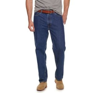 Levi's 550 relaxed fit 44X30 dark wash